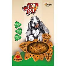 MEAT HIT Dental Care - ciasteczka dla psów z indykiem na zdrowe zęby, 454g