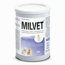 EUROWET Milvet - pełnowartościowy preparat mlekozastępczy dla szczeniąt i kociąt, 300g