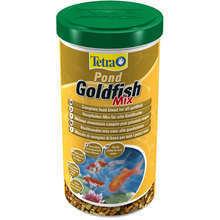 TETRA Pond Goldfish Mix - mieszanka pokarmów dla złotych rybek stawowych, 1L