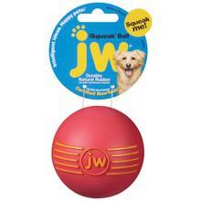 Jw Pet Isqueak Ball - gumowa piłka z piszczałką dla psa