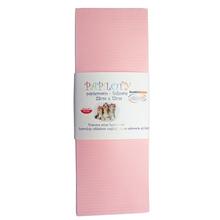 Papiloty papierowo-foliowe, rozmiar 33 cm x 12 cm, kolor różowy