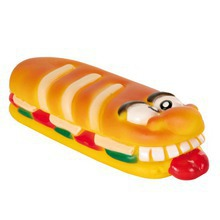 Trixie Zwariowana kanapka - zabawka winylowa dla psa