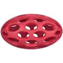 JW PET HOL-EE FOOTBALL - ażurowa piłka z otworami dla psa