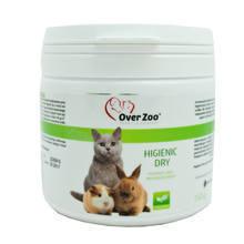 Over Zoo Higienic Dry - preparat wspomagający żwirki i inne ściółki dla zwierząt, 150g