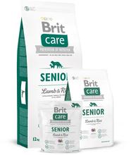 Brit Care Senior Lamb & Rice - karma dla starszych psów z jagnięciną