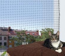 Trixie Cat Protect- siatka zabezpieczająca okno lub balkon dla kota, czarna