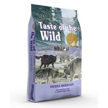 Taste of the Wild Sierra Mountain - sucha karma dla psów wrażliwych, delikatna jagnięcina i słodkie ziemniaki
