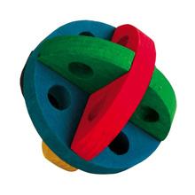 TRIXIE drewniana zabawka dla gryzoni w kształcie piłki