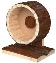 TRIXIE  Natural Living -  drewniana karuzela dla gryzoni