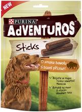 PURINA® AdVENTuROS™ Sticks - przekąska dla psa o smaku bawoła, 120g