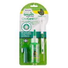 TROPICLEAN - Oral Care Kit Small - Zestaw ze szczoteczką do czyszczenia zębów psa i kotów ras małych.
