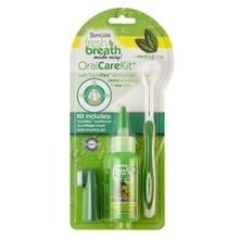 TROPICLEAN - Oral Care Kit M/L - Zestaw ze szczoteczką do czyszczenia zębów
