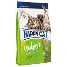 HAPPY CAT ADULT INDOOR WEIDE-LAMM - karma dla kota domowego z jagnięciną
