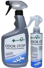 NANO VET - ODOR STOP - środek nowej generacji do czyszczenia i deodoryzacji, w sprayu