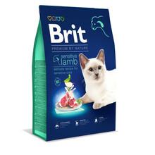 Brit Premium Cat Sensitive - karma dla kotów o wrażliwym układzie pokarmowym, 300g, 800g, 1,5 kg, 8 kg