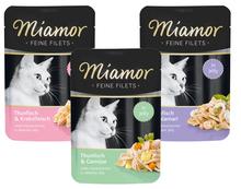 MIAMOR Feine Filets - karma mokra dla kotów dorosłych wszystkich ras, 100g