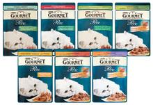 PURINA GOURMET PERLE - Delikatny mięsny duet - karma dla kotów, 85g