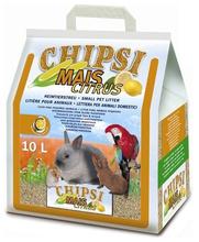 CHIPSI MAIS Citrus naturalna podściółka, żwirek dla gryzoni i ptaków, 10 L