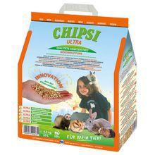 CHIPSI ULTRA naturalna podściółka, żwirek dla gryzoni i ptaków, 10 L
