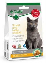 DR SEIDEL Smakołyki dla kota na piękną sierść, 50g