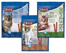 TRIXIE PREMIO Stick Quintett - Kabanosy odkłaczające dla kota, 4 x 5g