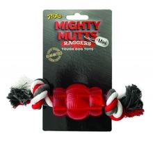 PET LOVE MIGHTY MUTTS™ TOUGH DOG TOYS - Mini Beczka z Liną - gryzak dla psa