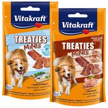 VITAKRAFT - TREATIES MINI - pieczone mięsne paszteciki, przysmak dla psa, 48g