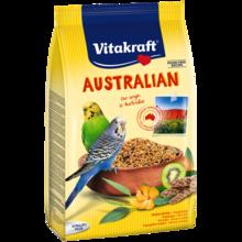 VITAKRAFT - AUSTRALIAN - Papuga falista - pokarm z dzikimi zbożami i kiwi, 800g