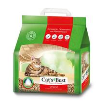 CAT'S BEST Original (Eko Plus) - drewniany żwirek dla kota