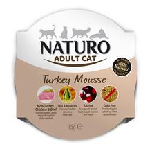 NATURO Turkey Mousse - mokra karma dla dorosłego kota 85g