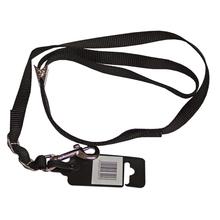 Show-tech - smycz groomerska regulowana, czarna, szerokość 16 mm, długość 53 cm