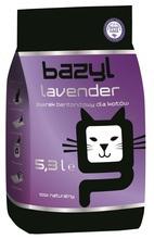 BAZYL Standard Lavender - zapachowy żwirek bentonitowy, zbrylający 5,3l
