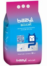 BAZYL Silicat - żwirek silikonowy dla kota 5l