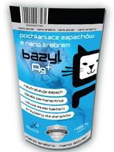 BAZYL Pochłaniacz zapachów Ag+ 450g