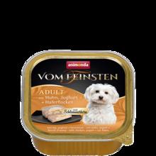 ANIMONDA Vom Feinsten Classic - mokra karma z kurczakiem, jogurtem i płatkami 150 g