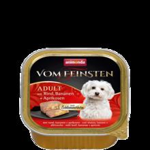 ANIMONDA Vom Feinsten Classic - mokra karma z wołowiną, bananem i morelą 150 g