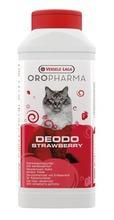 OROPHARMA Deodo Strawberry pochłaniacz zapachów do kociej kuwety 750 g