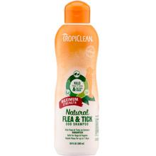 TROPICLEAN Natural Flea & Tick Shampoo - szampon do walki z pchłami, kleszczami i komarami 592 ml