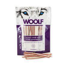 WOOLF Long Lamb And Cod Sandwich - przysmaki dla psa 100g