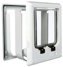 TRIXIE Drzwi wahadlowe dla kota, elektromagnetyczne 10-35mm Białe