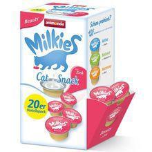 ANIMONDA - Milkies Beauty z Cynkiem - Mleko dla kotów, 20x15g