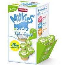 ANIMONDA - Milkies Balance z Wit. D+E - Mleko dla kotów, 20x15g