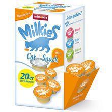 ANIMONDA - Milkies Harmony ze słodem - Mleko dla kotów, 20x15g
