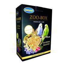 MEGAN ZOO-BOX - Pokarm dla papużek falistych 750g