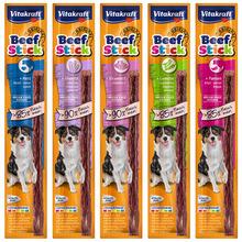 VITAKRAFT - BEEF STICK - miękkie kabanosy dla psa, 12g
