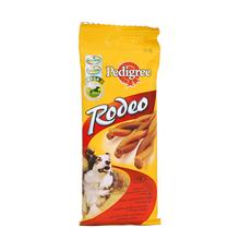 Pedigree Rodeo - miękkie, zwijane pałeczki z wołowiną, 4 szt.