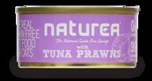 NATUREA Grainfree Tuńczyk i Krewetki - bezzbożowa mokra karma dla kotów 80 g