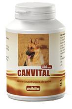 MIKITA Canvital - witaminy i minerały dla psa, 150 tabletek