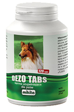 MIKITA Dezo Tabs - tabletki neutralizujące zapachy, 120 tabletek