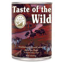 TASTE OF THE WILD Southwest Canyon Canine Formula 390g